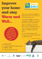 Warm & Well Poster