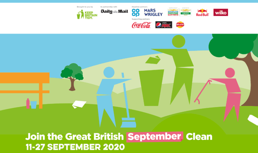 The Great British September Clean continues