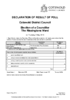 Declaration-of-Results-The Rissingtons-Ward
