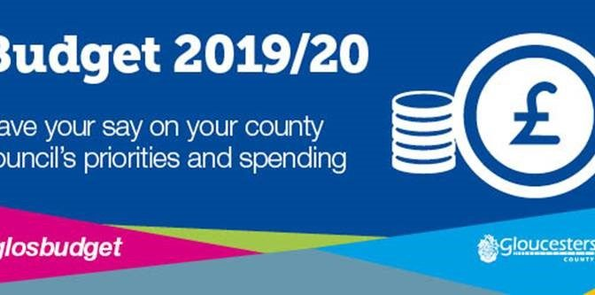 Gloucestershire County Council's Budget 2019/20 Consultation is Live