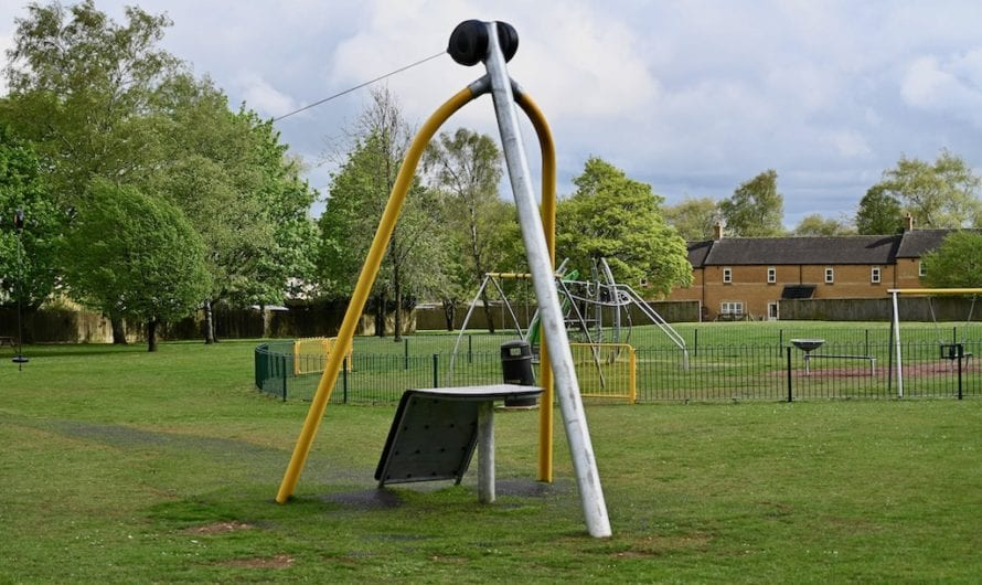 Play Area Closed Until Further Notice