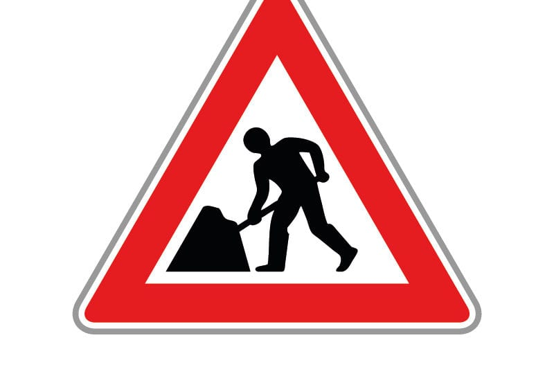 Roadworks schedule. 03-27 September.
