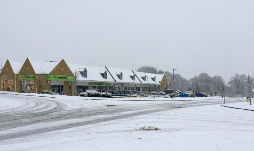 Flooding, snow and ice affect parts of the Cotswolds