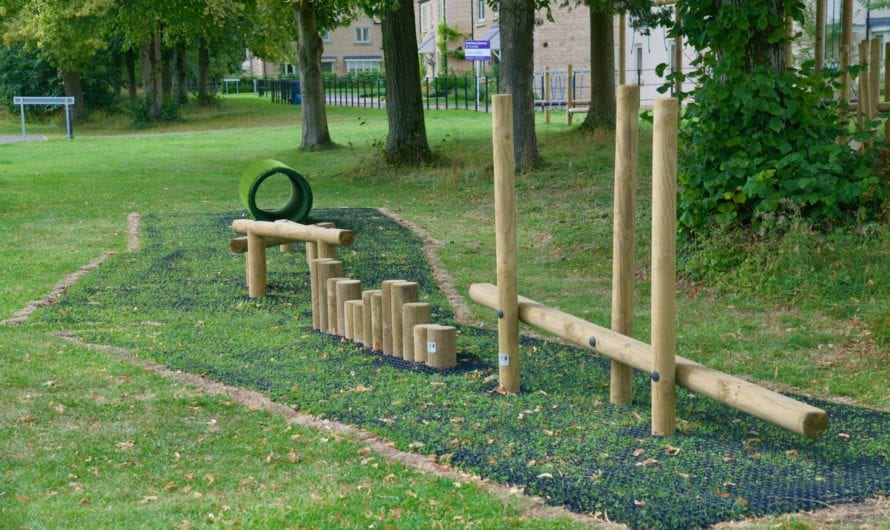 Upper Rissington Play Parks reopen