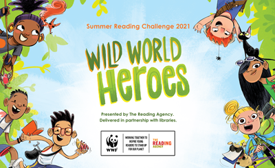 Be a 'Wild World Hero' with Gloucestershire Libraries