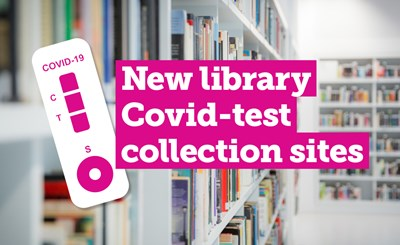 Rapid COVID-19 test kits now available at five city libraries