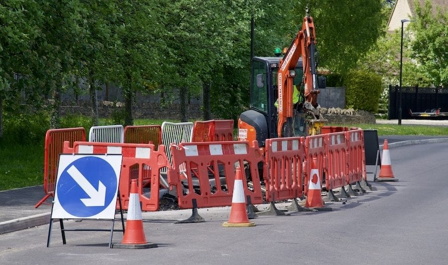 Road Works Schedule – 15th October